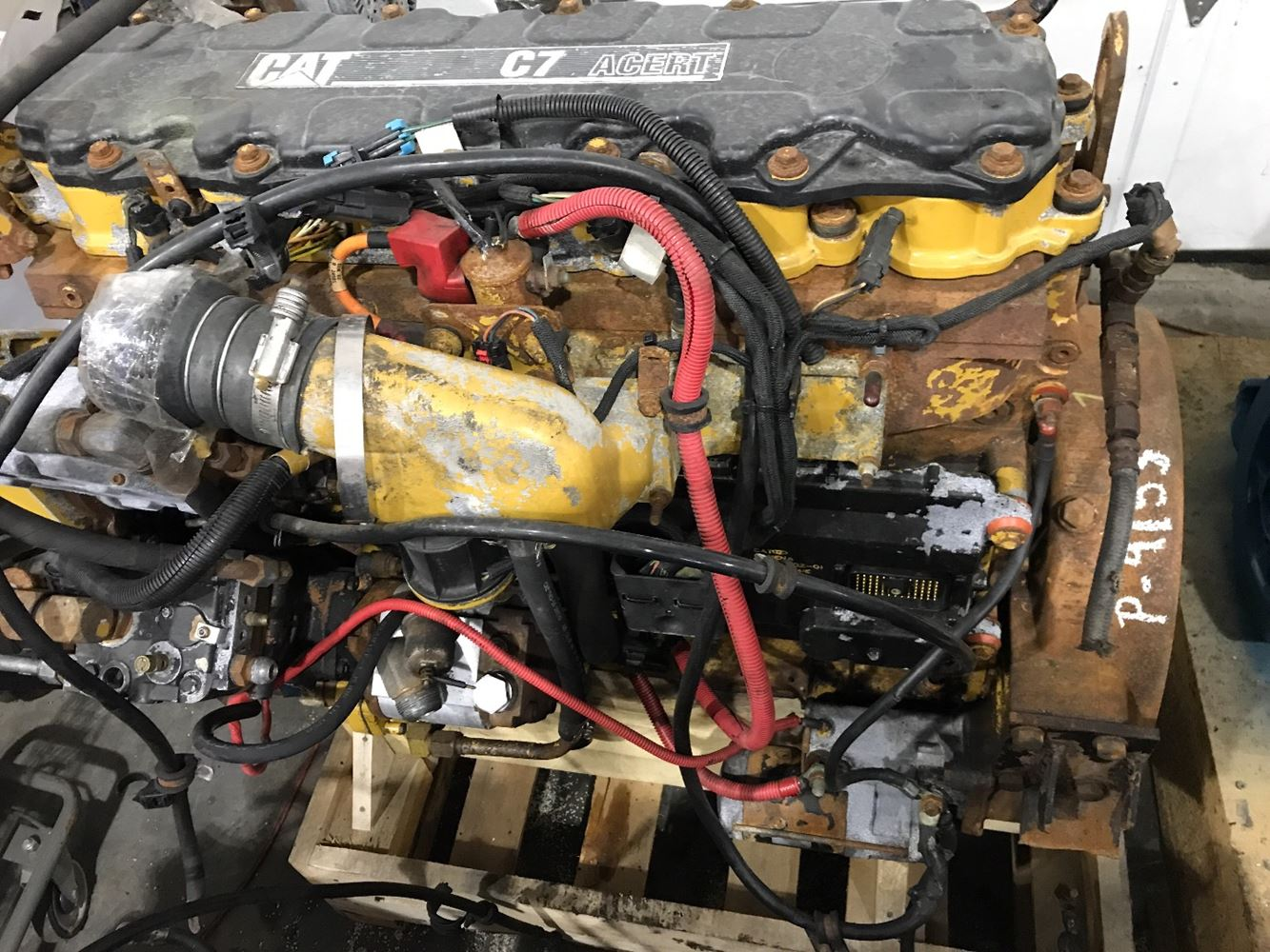 CATERPILLAR C7 ENGINE ASSEMBLY TRUCK PARTS #679939