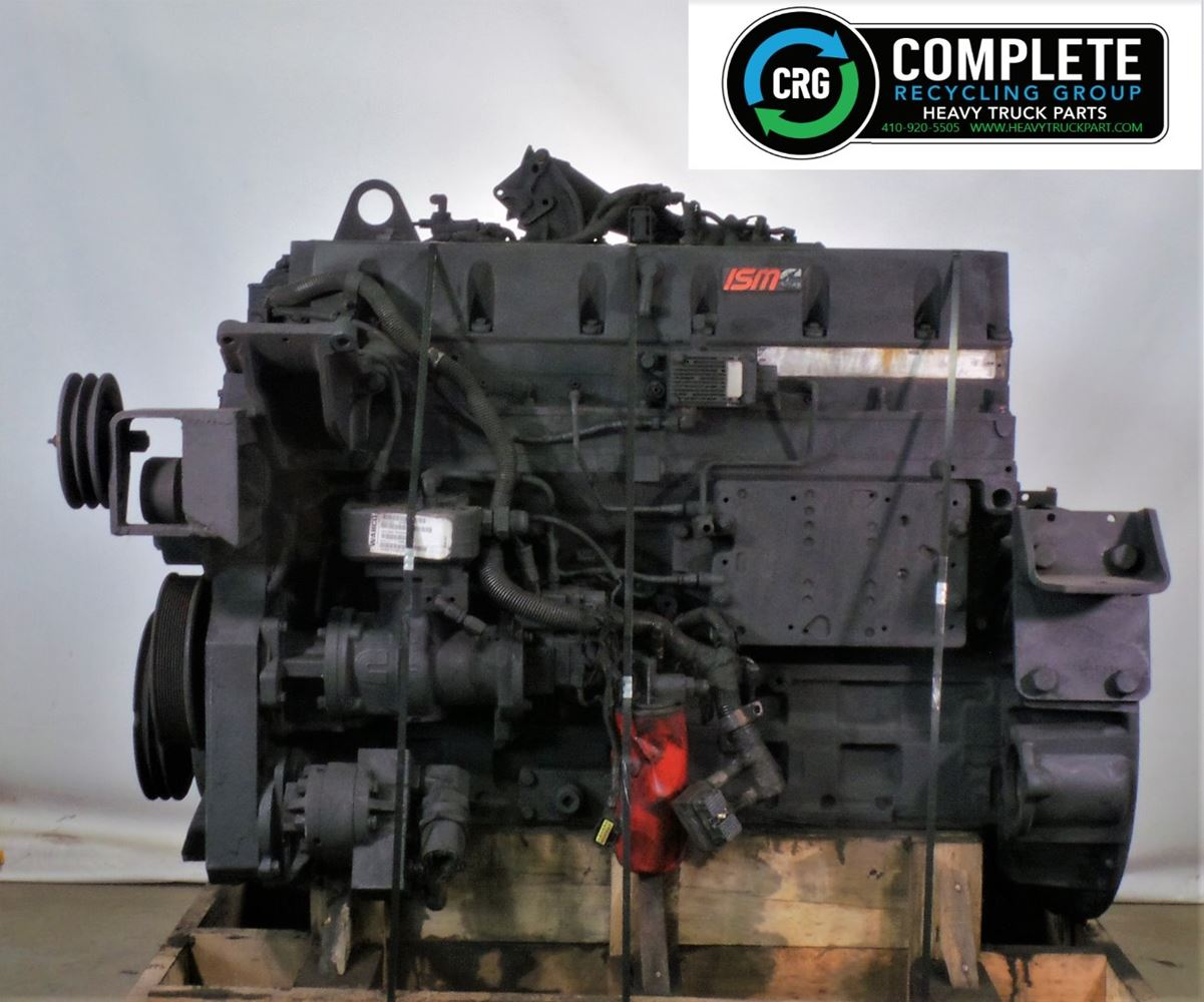 2005 CUMMINS ISM ENGINE ASSEMBLY TRUCK PARTS #680029