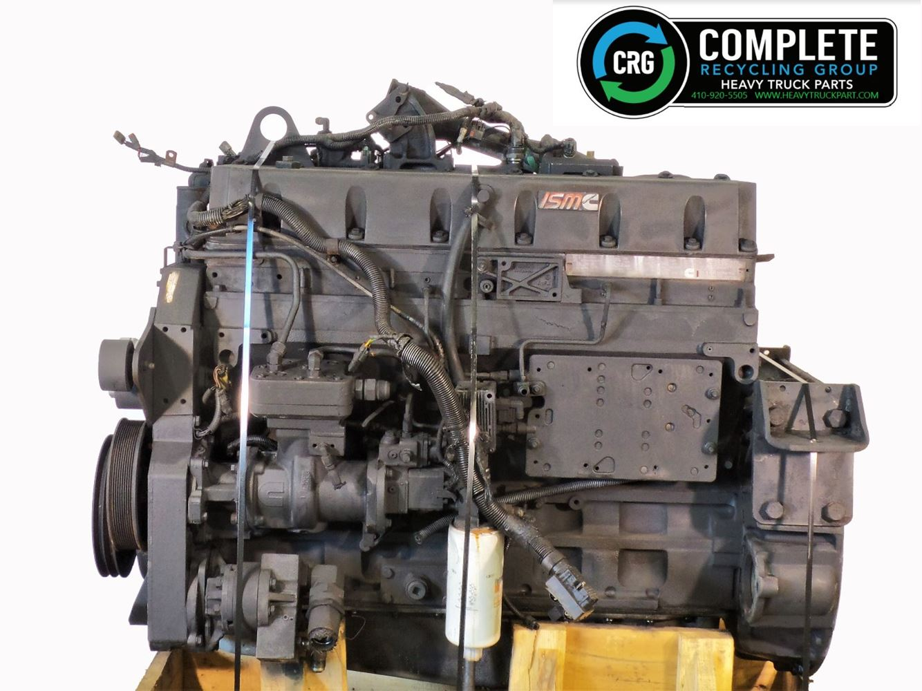 2005 CUMMINS ISM ENGINE ASSEMBLY TRUCK PARTS #680030