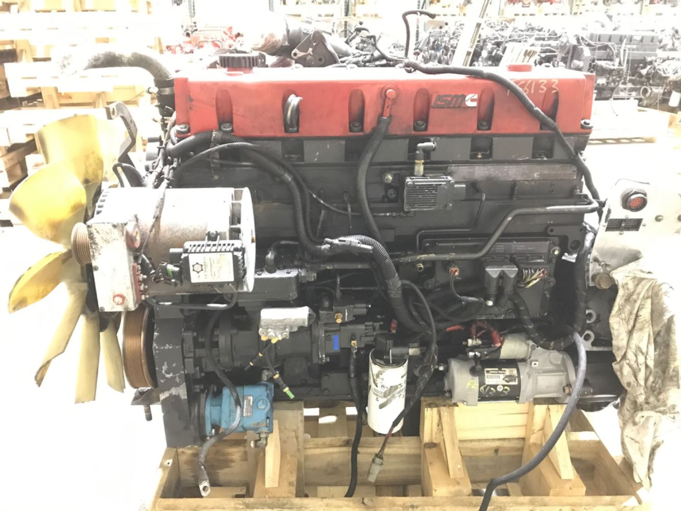 2005 CUMMINS ISM ENGINE ASSEMBLY TRUCK PARTS #679803