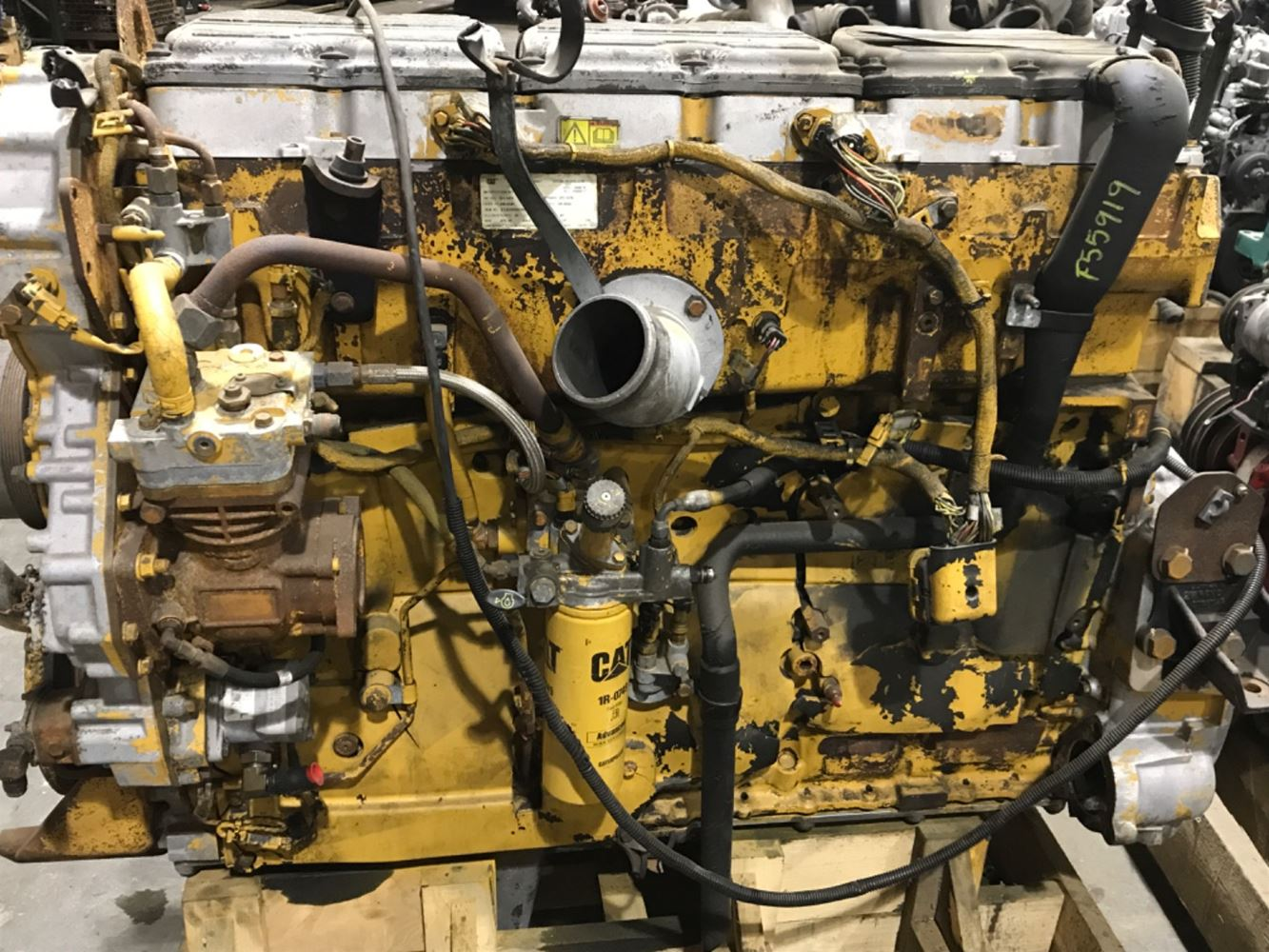 2006 CATERPILLAR C15 ENGINE ASSEMBLY TRUCK PARTS #690444