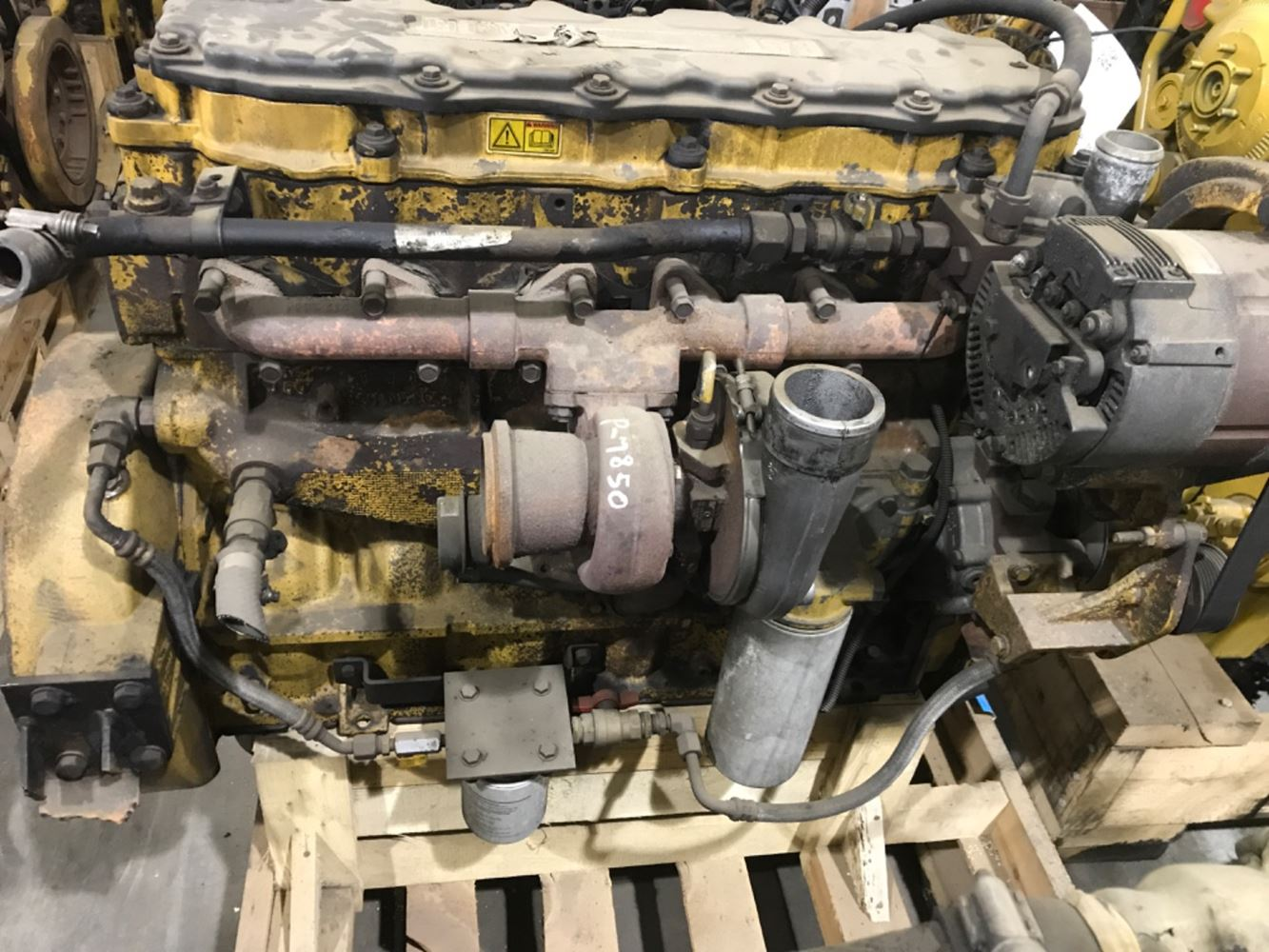 2006 CATERPILLAR C7 ENGINE ASSEMBLY TRUCK PARTS #679907