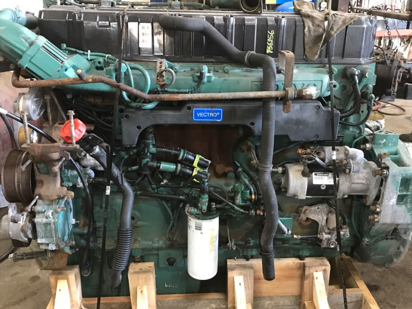 2006 VOLVO VE D12 ENGINE ASSEMBLY TRUCK PARTS #707175