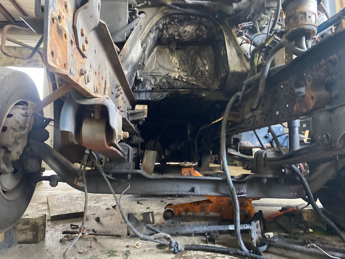 2007 INTERNATIONAL PC015 FRONT AXLE TRUCK PARTS #699115