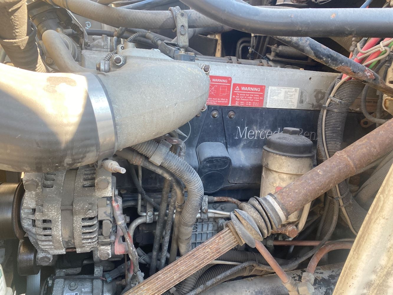 2007 MERCEDES MBE 4000 ENGINE ASSEMBLY TRUCK PARTS #707174