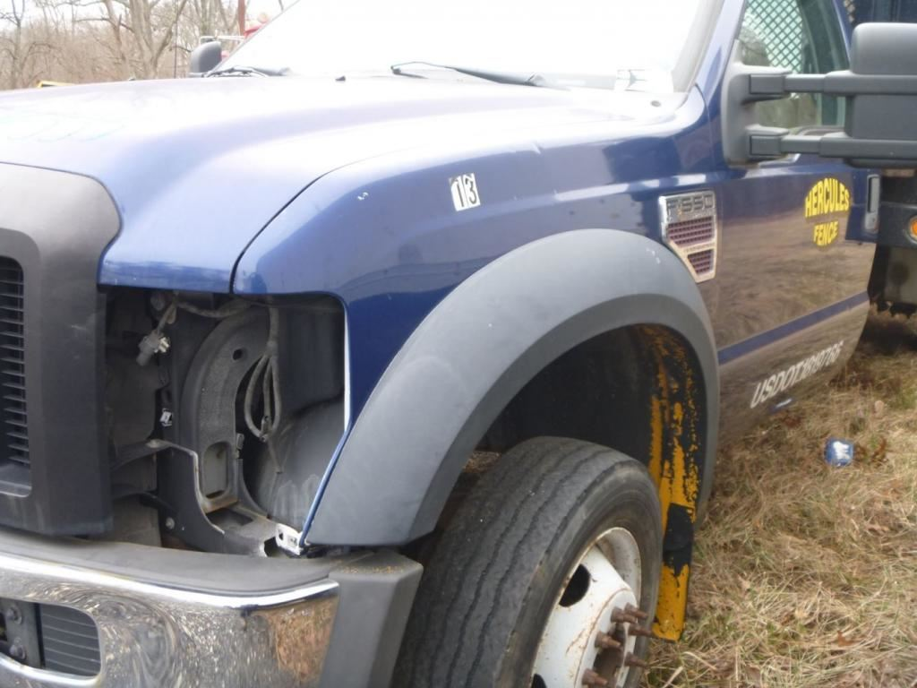 2008 FORD F550 FENDER EXTENSION TRUCK PARTS #681451