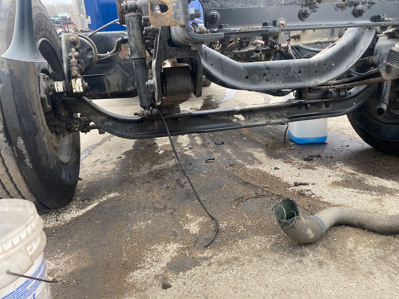 2008 INTERNATIONAL 7300 FRONT AXLE TRUCK PARTS #707203