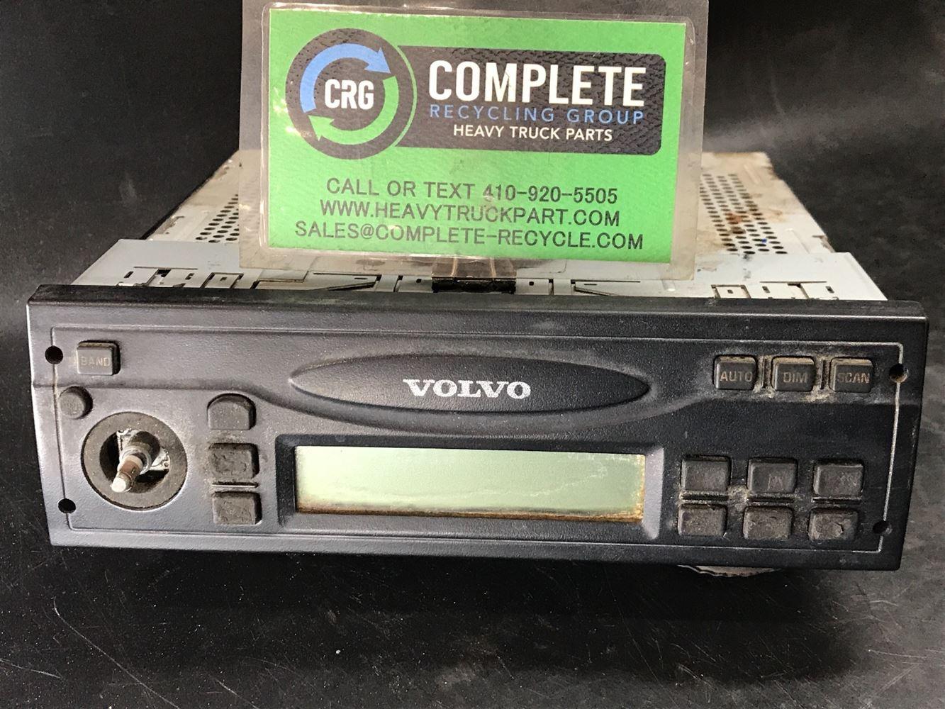 2009 VOLVO VNM RADIO TRUCK PARTS #719470