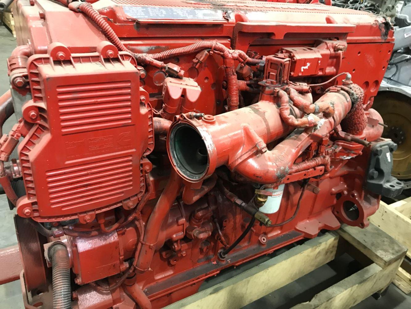 2010 CUMMINS ISX; SIGNATURE ENGINE ASSEMBLY TRUCK PARTS #679794
