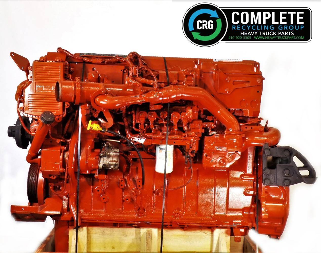 2011 CUMMINS ISX ENGINE ASSEMBLY TRUCK PARTS #719026
