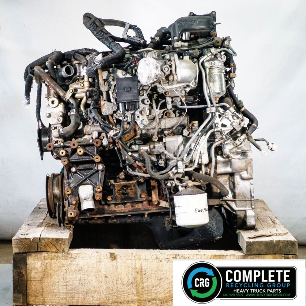 2011 ISUZU 4HK1-TC ENGINE ASSEMBLY TRUCK PARTS #702971