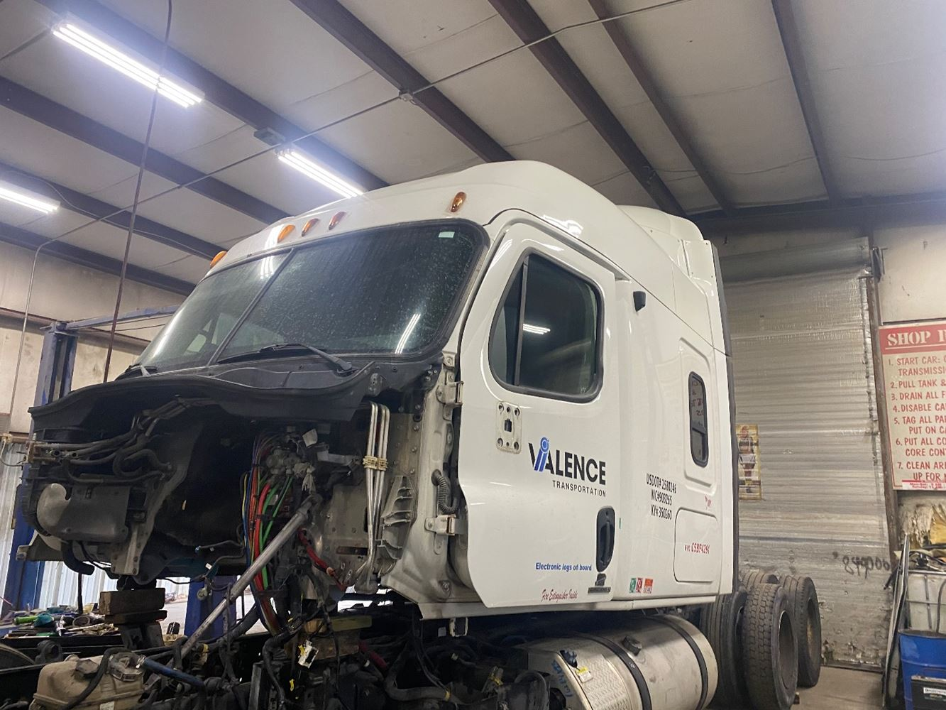 2012 FREIGHTLINER CASCADIA 125 CAB TRUCK PARTS #701768