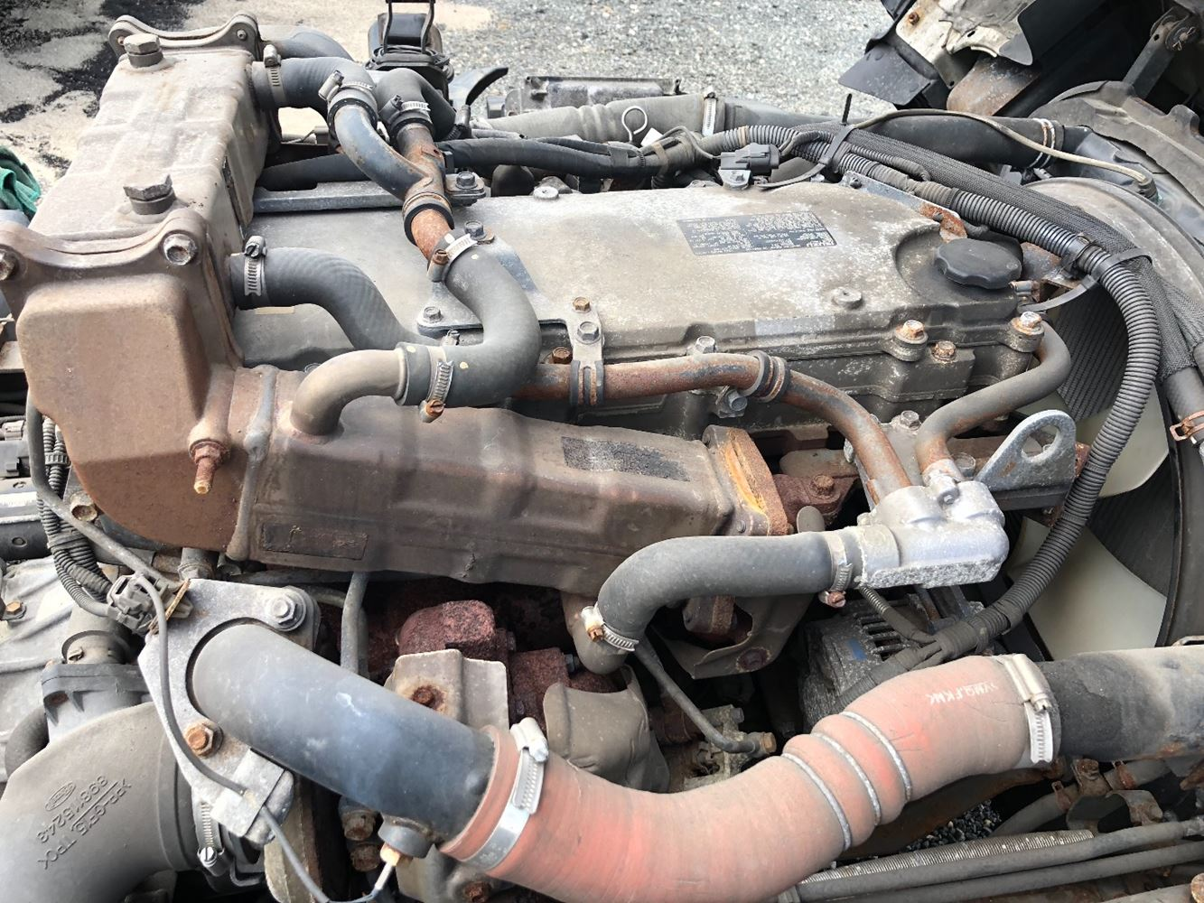 2012 ISUZU 4HK1-TC ENGINE ASSEMBLY TRUCK PARTS #698995