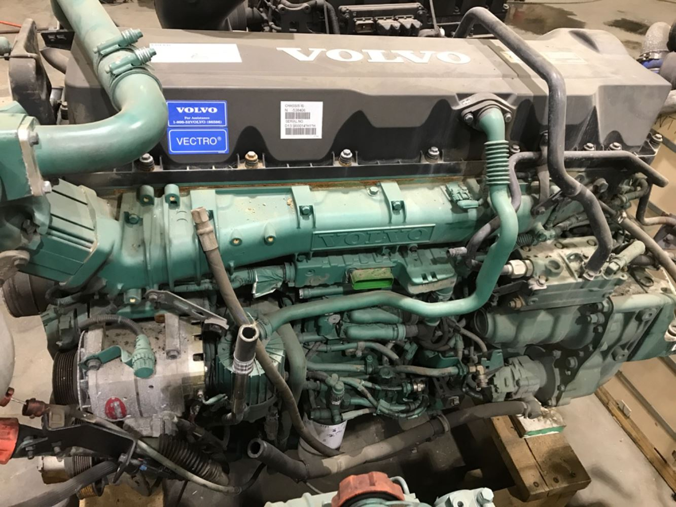 2012 VOLVO D13H ENGINE ASSEMBLY TRUCK PARTS #679800