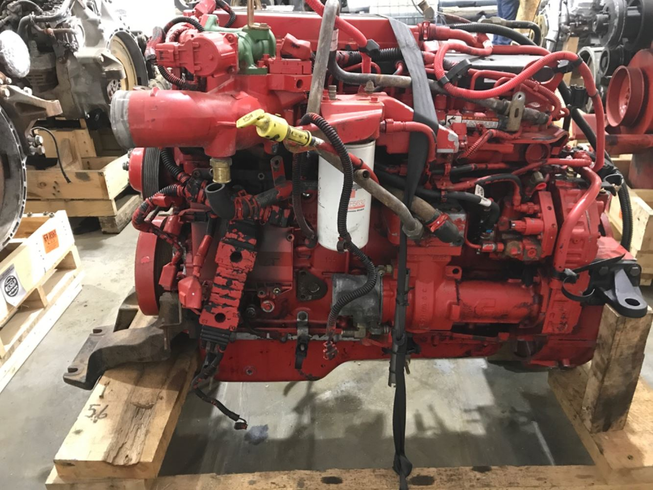 2013 CUMMINS ISB 260 ENGINE ASSEMBLY TRUCK PARTS #694341