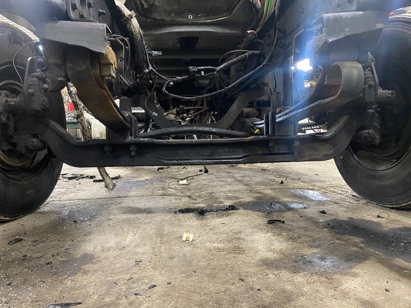 2013 FREIGHTLINER CASCADIA 125 FRONT AXLE TRUCK PARTS #707209