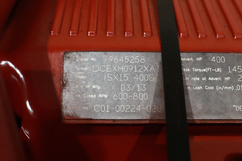 2014 CUMMINS ISX; SIGNATURE ENGINE ASSEMBLY TRUCK PARTS #679745