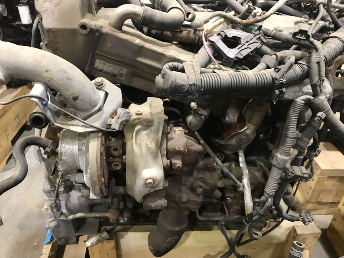 2014 ISUZU 4HK1-TC ENGINE ASSEMBLY TRUCK PARTS #679855