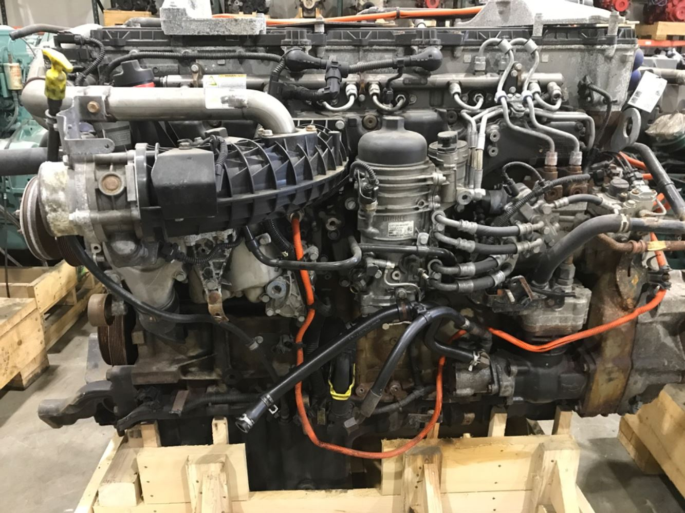 2015 DETROIT DD13 ENGINE ASSEMBLY TRUCK PARTS #690551