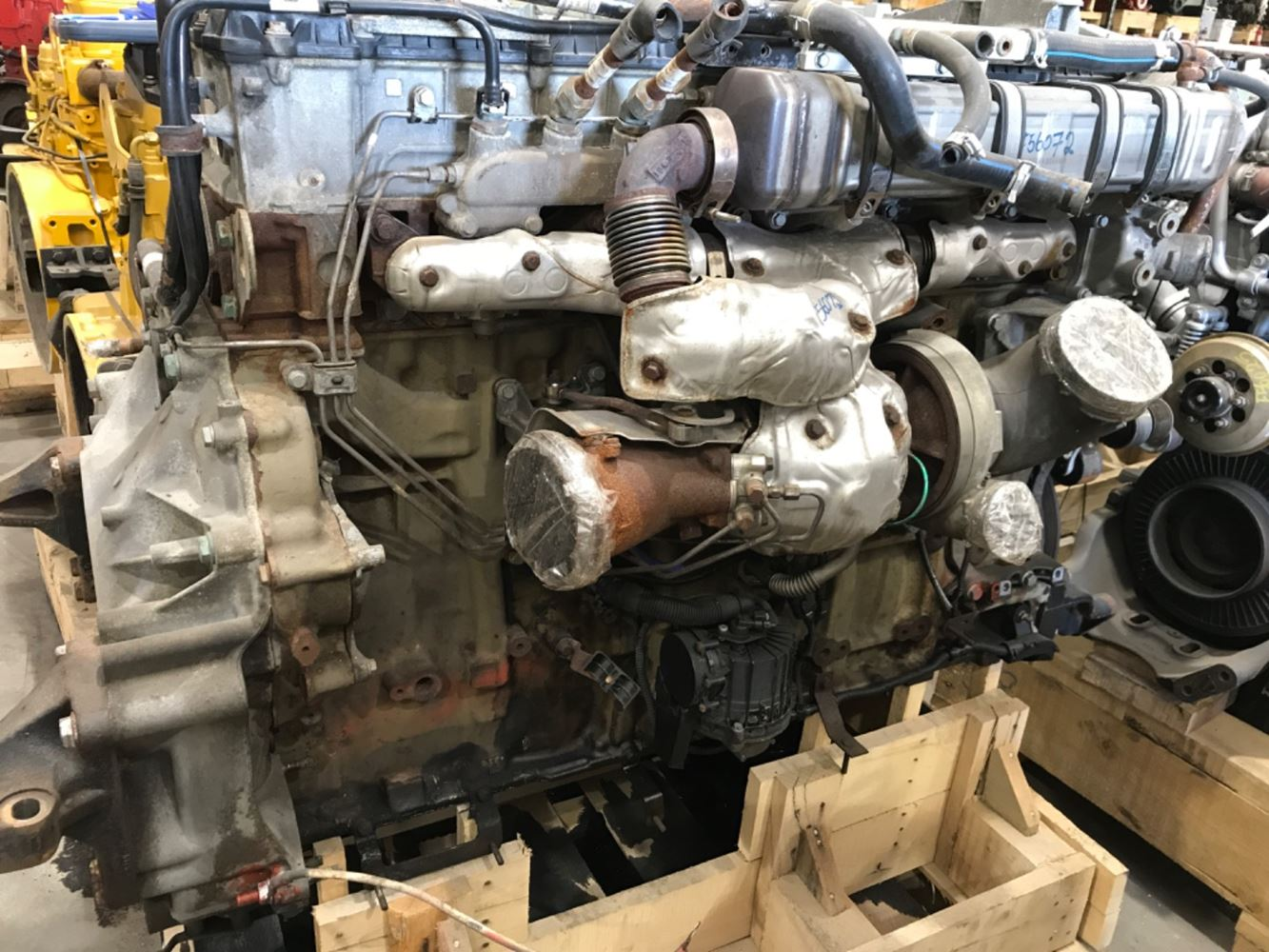 2015 DETROIT DD15 ENGINE ASSEMBLY TRUCK PARTS #679746