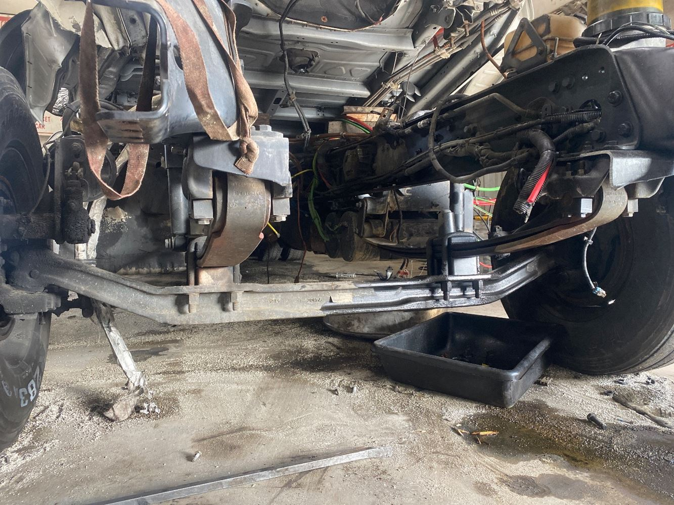 2015 FREIGHTLINER CASCADIA 125 FRONT AXLE TRUCK PARTS #697678