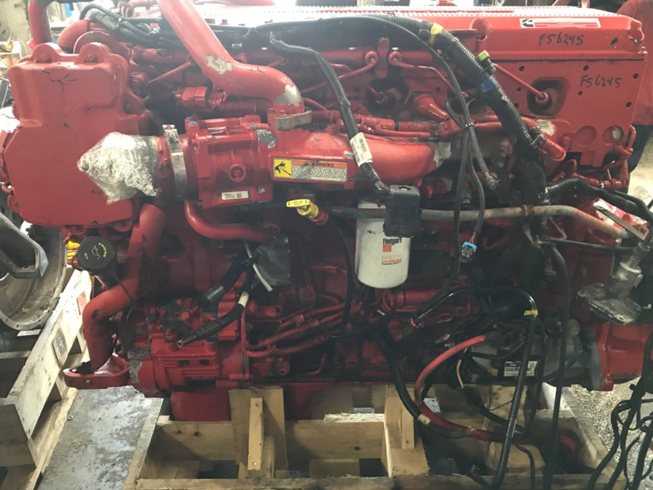 2016 CUMMINS ISX ENGINE ASSEMBLY TRUCK PARTS #703135