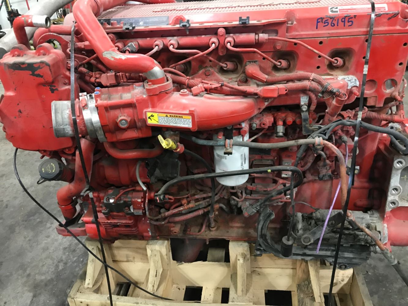 2017 CUMMINS ISX ENGINE ASSEMBLY TRUCK PARTS #699157