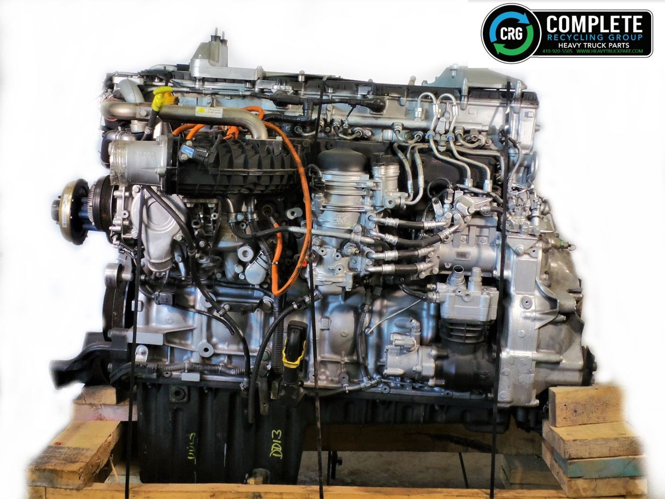 2017 DETROIT DD13 ENGINE ASSEMBLY TRUCK PARTS #679740