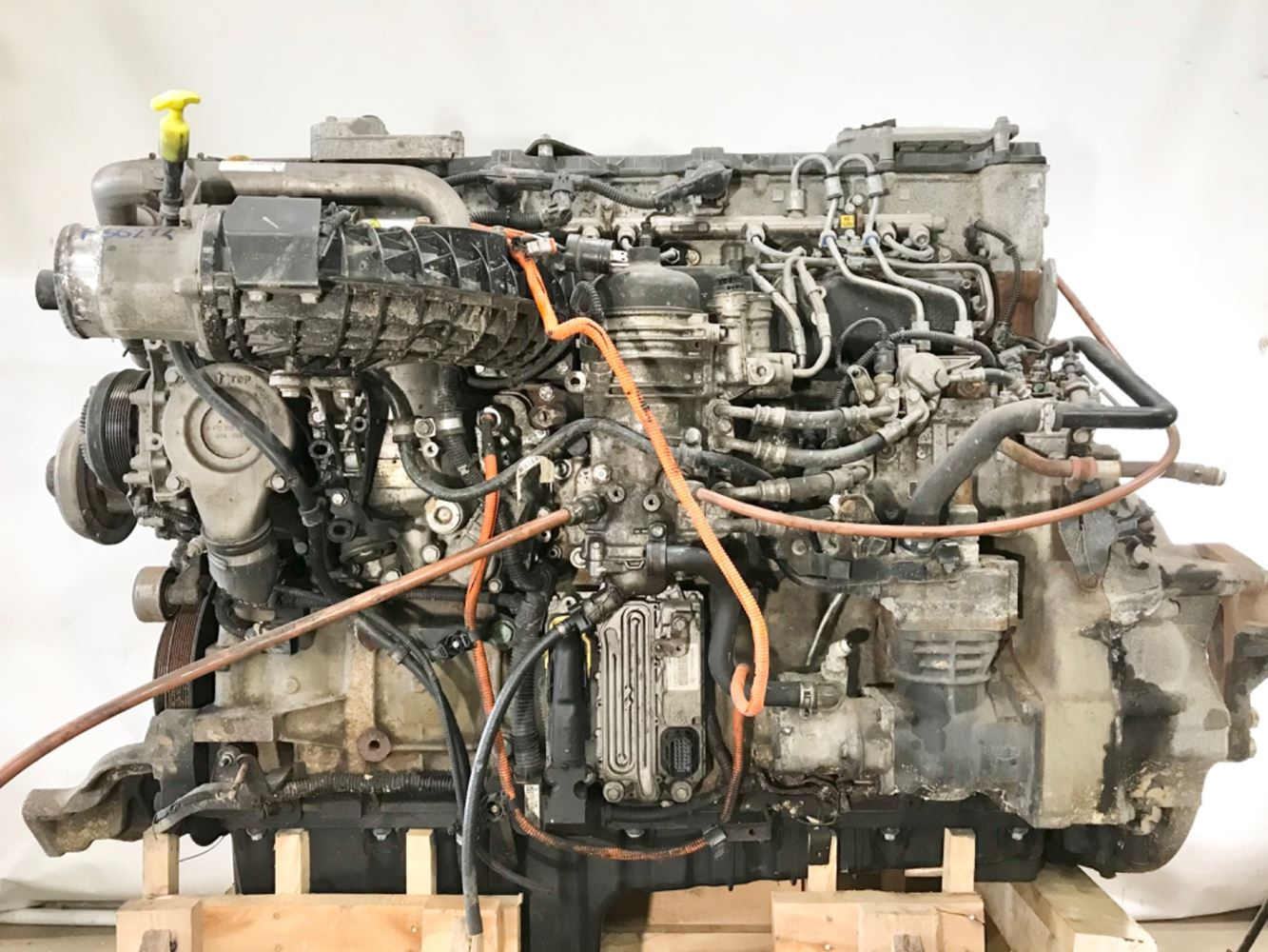 2017 DETROIT DD13 ENGINE ASSEMBLY TRUCK PARTS #709887