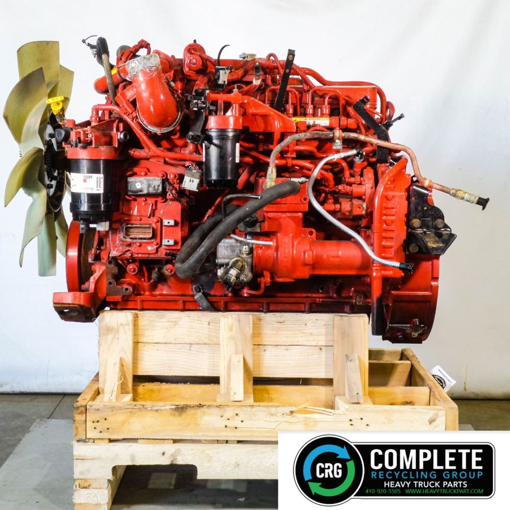2018 CUMMINS ISB 6.7 ENGINE ASSEMBLY TRUCK PARTS #690538