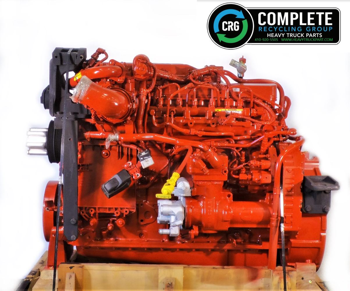 2019 CUMMINS B6.7 ENGINE ASSEMBLY TRUCK PARTS #679764