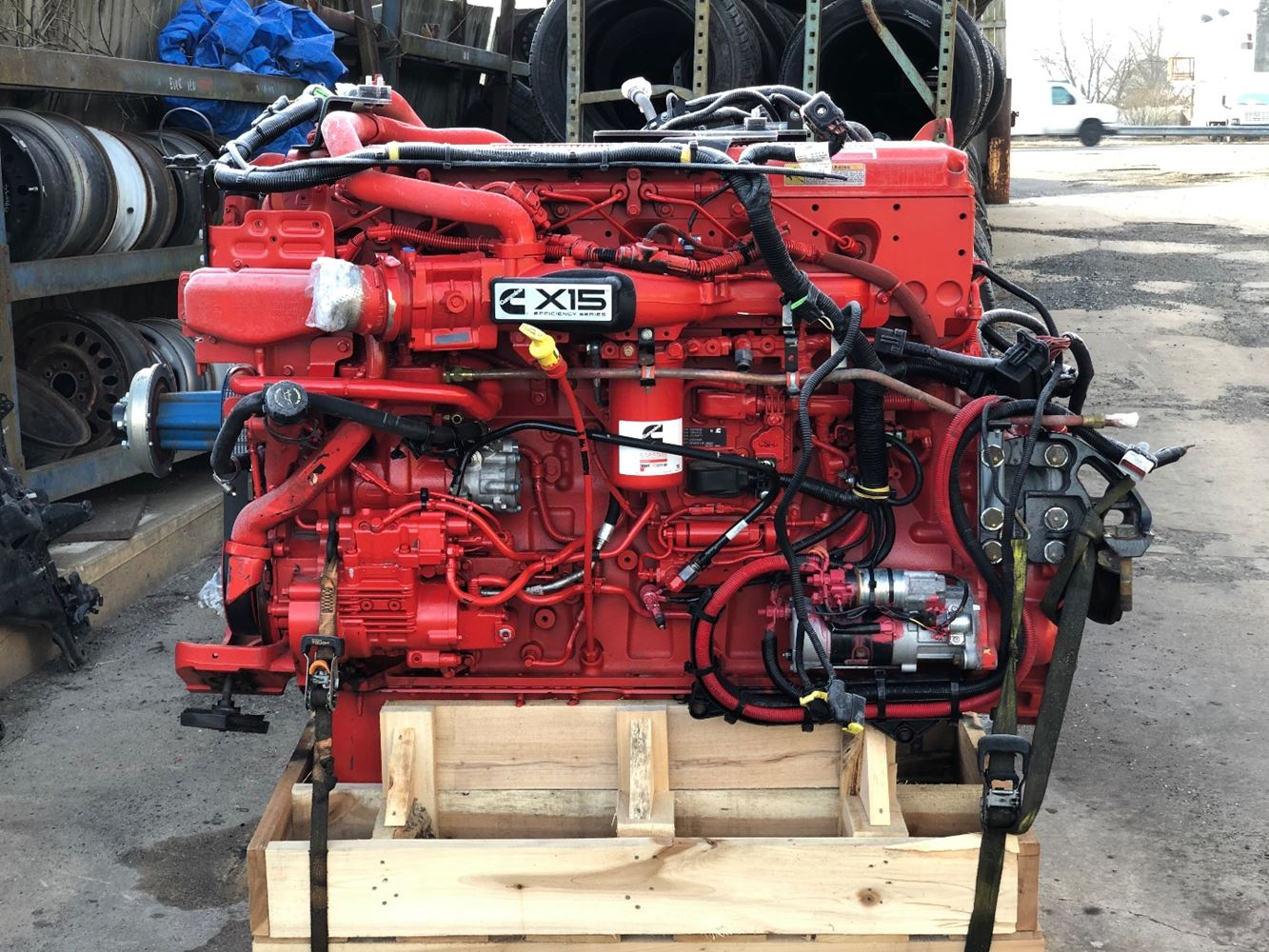 2019 CUMMINS X15 ENGINE ASSEMBLY TRUCK PARTS #694332