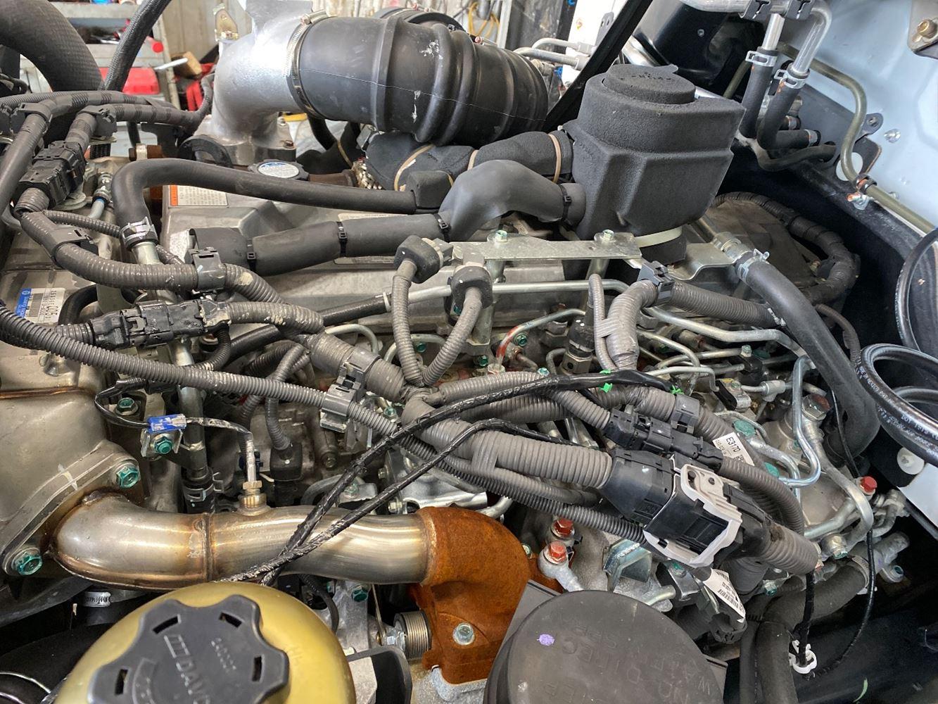 2019 HINO J08E-WU ENGINE ASSEMBLY TRUCK PARTS #721231