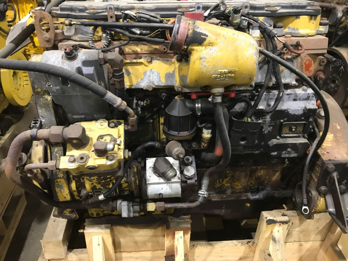 CATERPILLAR C7 ENGINE ASSEMBLY TRUCK PARTS #679937