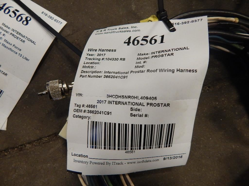 2017 INTERNATIONAL PROSTAR Wiring Harnesses (Cab Dash) S7Wy37NhkNV4_f 2017 international prostar (stock 46561) k & r truck sales 74 International Truck Wiring Harness at creativeand.co