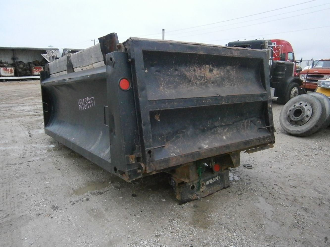 Dump Body Parts : Dump bodies other stock hp truck boxes