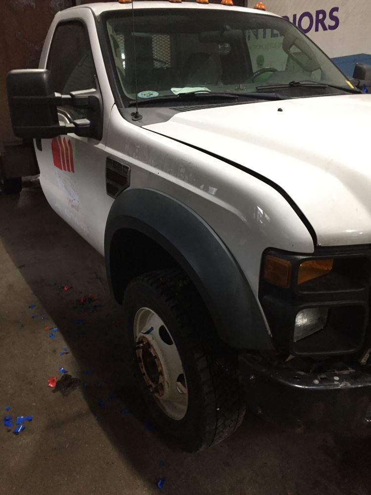 2008 Ford Ford F550sd Pickup Stock 26716 3 Fender