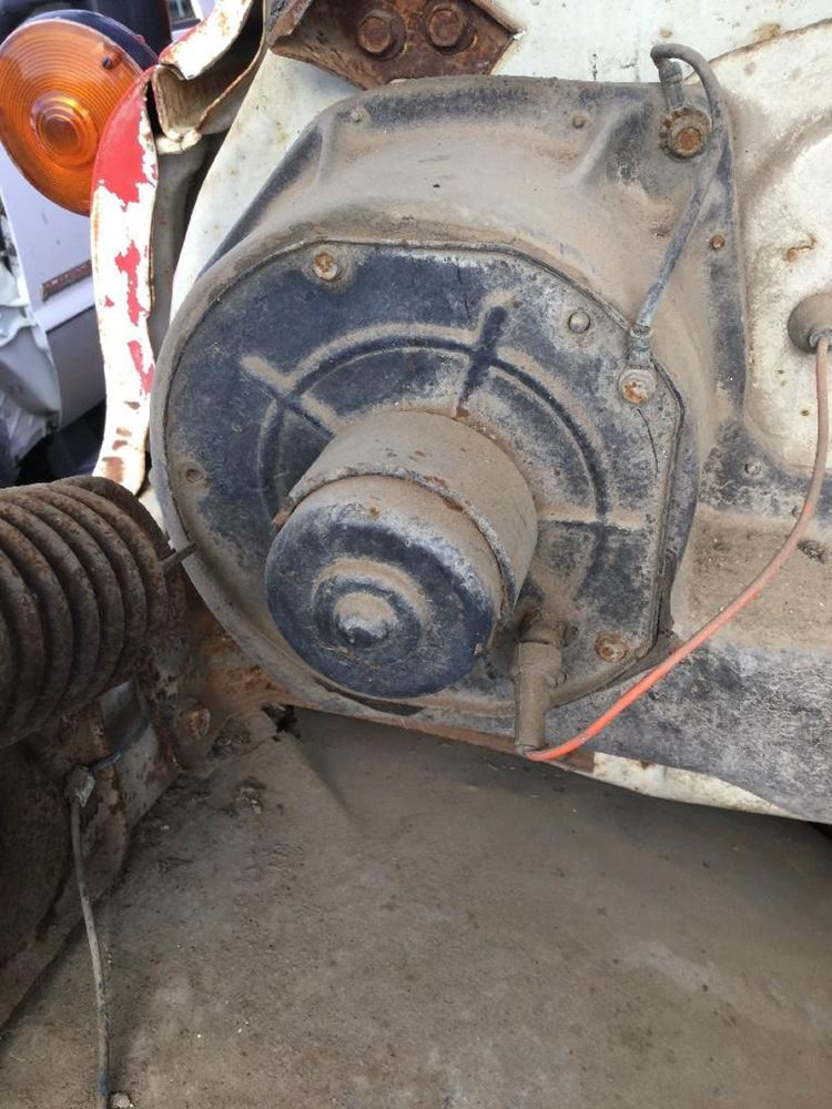 Used Grain Blowers : Gmc grain truck stock  blower motors tpi