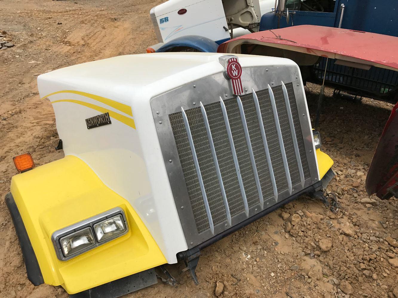 Semi Truck Hoods : Kenworth t stock sv hoods tpi