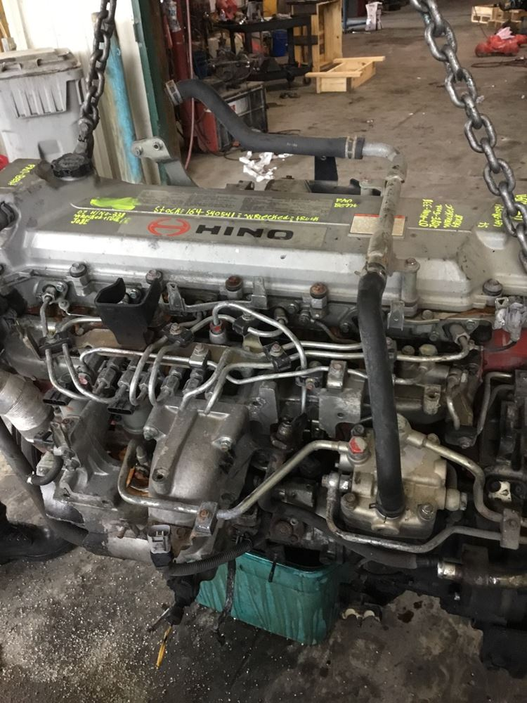 Hino Engine Parts : Hino jo e tb stock p engine assys tpi