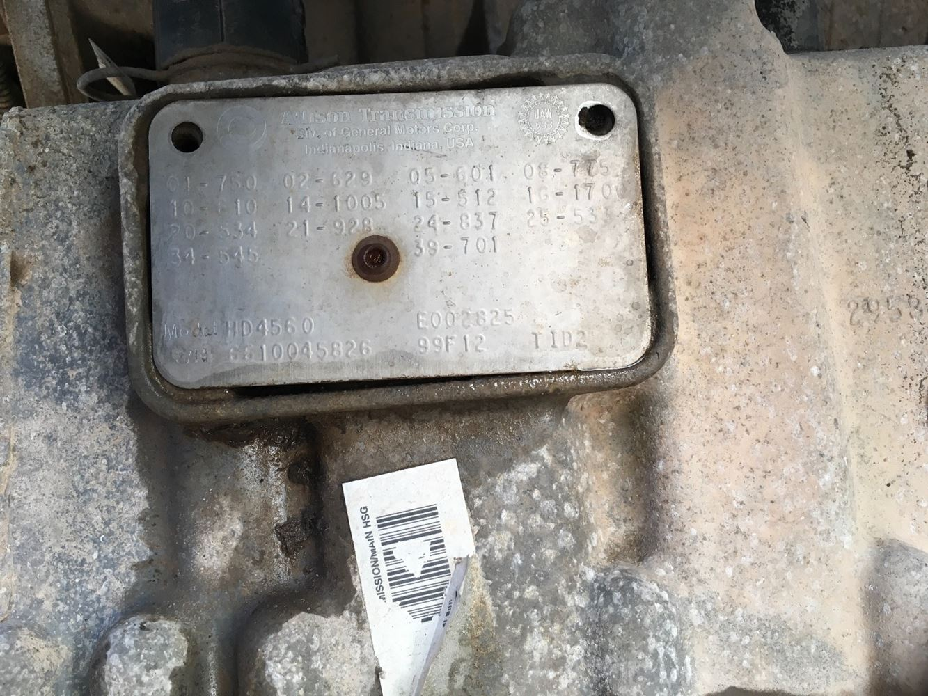 Used Parts for 2000 VOLVO WX for sale-59045495