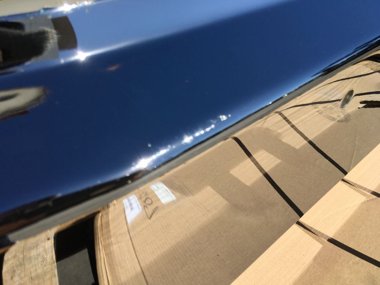 Chrome Bumpers For Fld 120 : Freightliner fld stock bumpers tpi