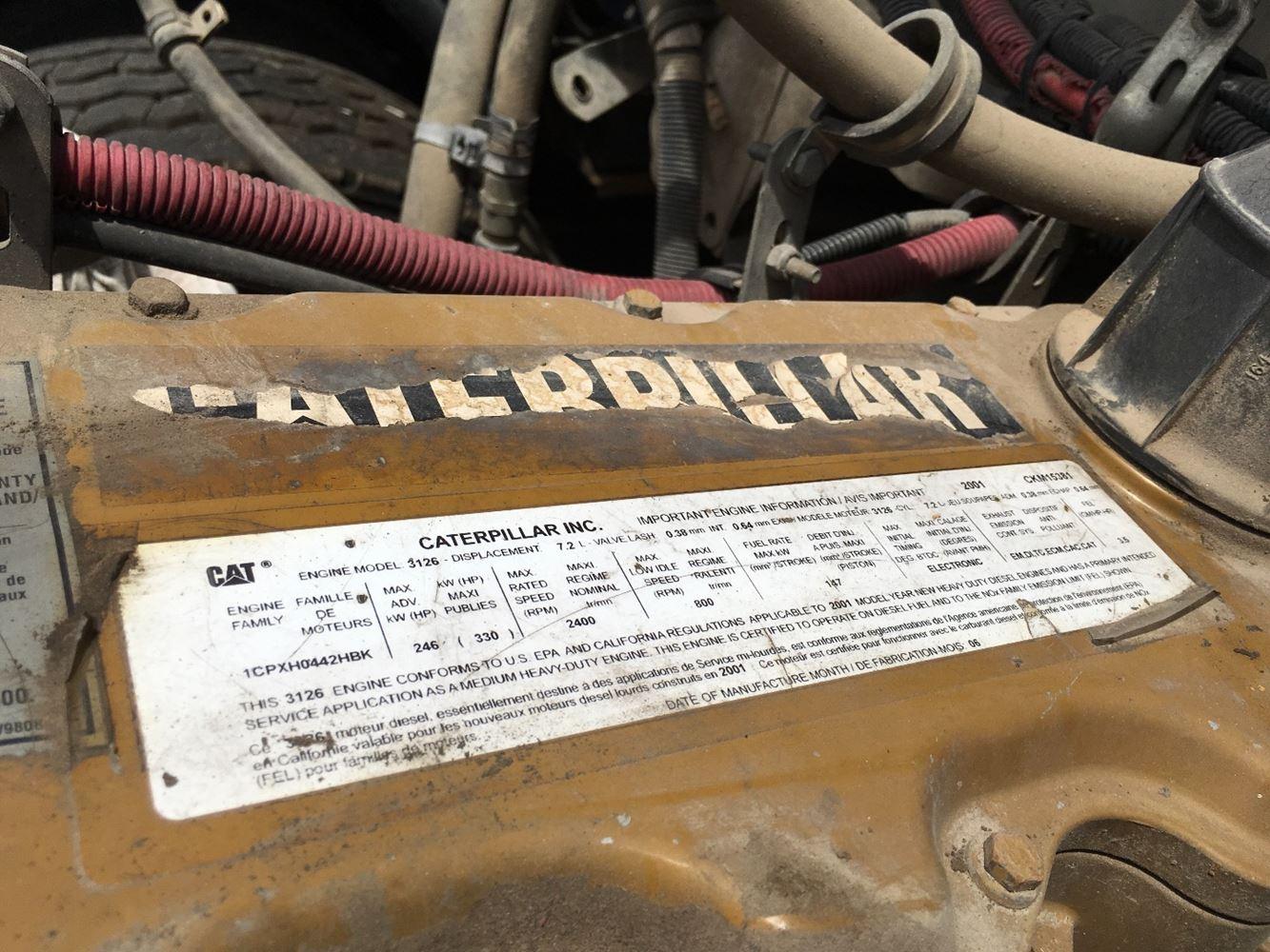 2002 Caterpillar 3126E (Stock #SV-1425-1) | Engine Assys | TPITruck Parts Inventory