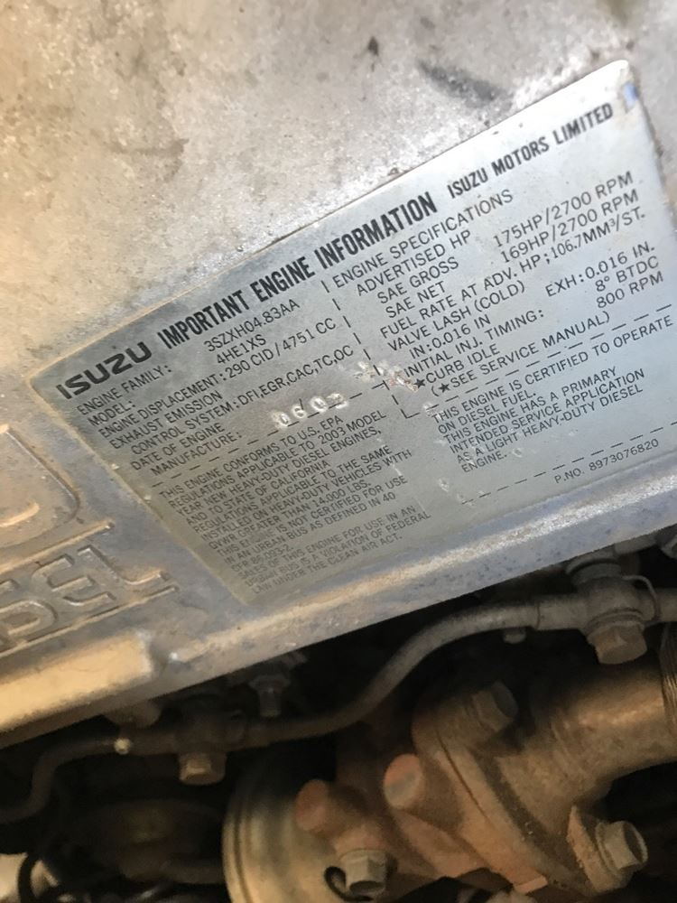 Used Parts for 2003 ISUZU NQR CREW CAB for sale-59049851