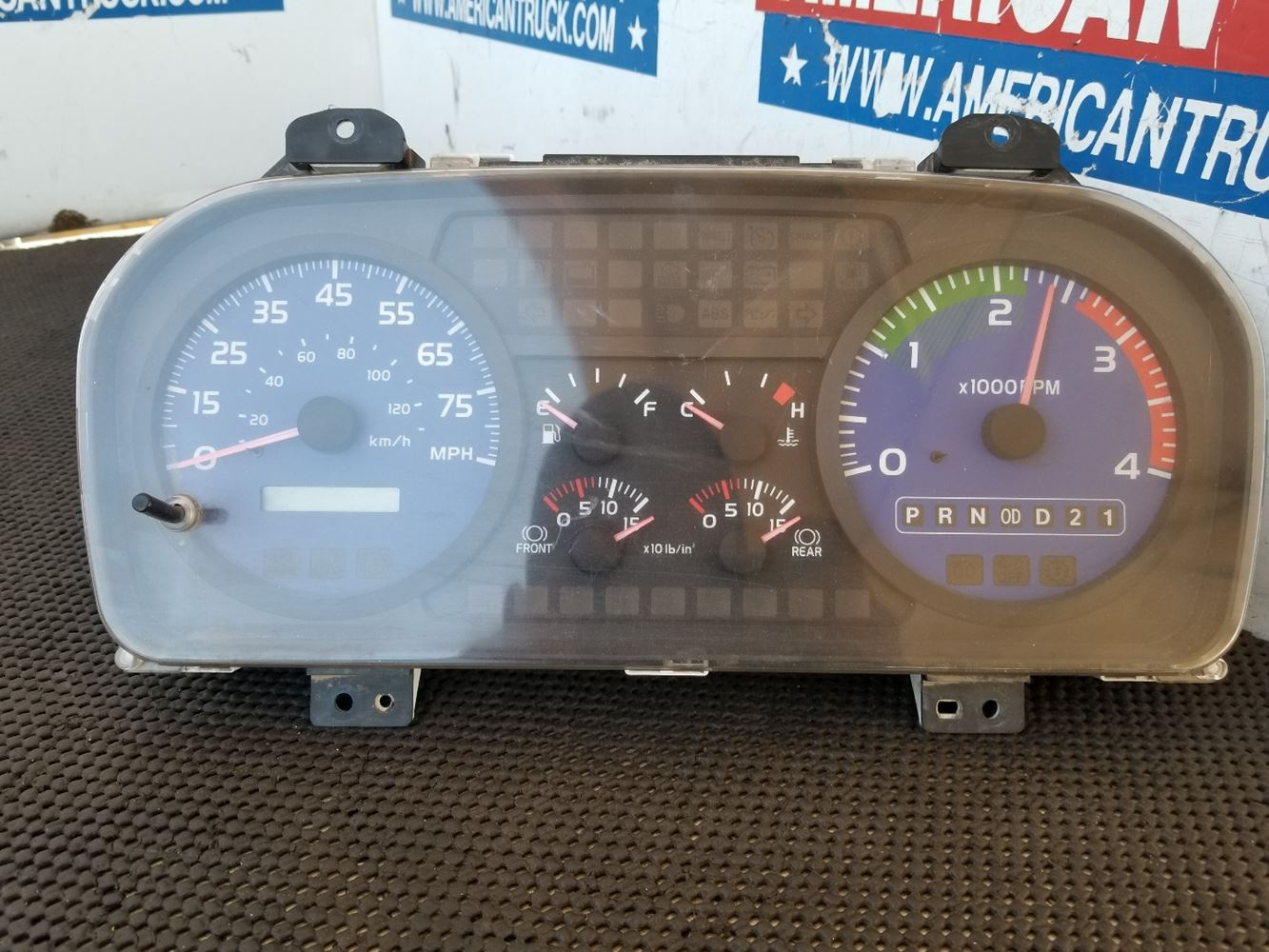 Stock #51872 - Instrument Cluster   American Truck Chrome