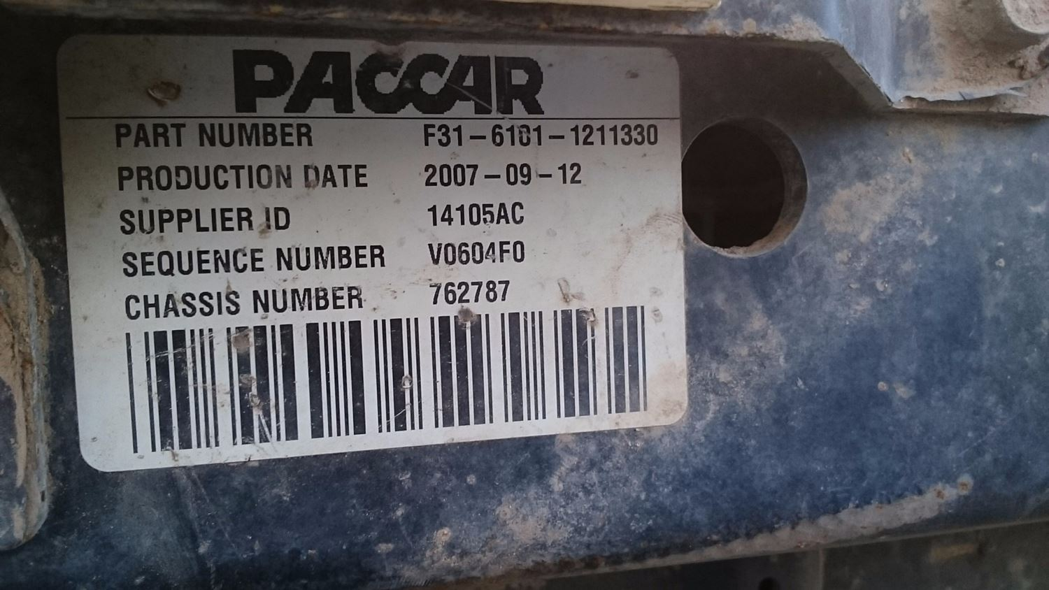 Used Parts for 2008 PETERBILT 367 for sale-59007417