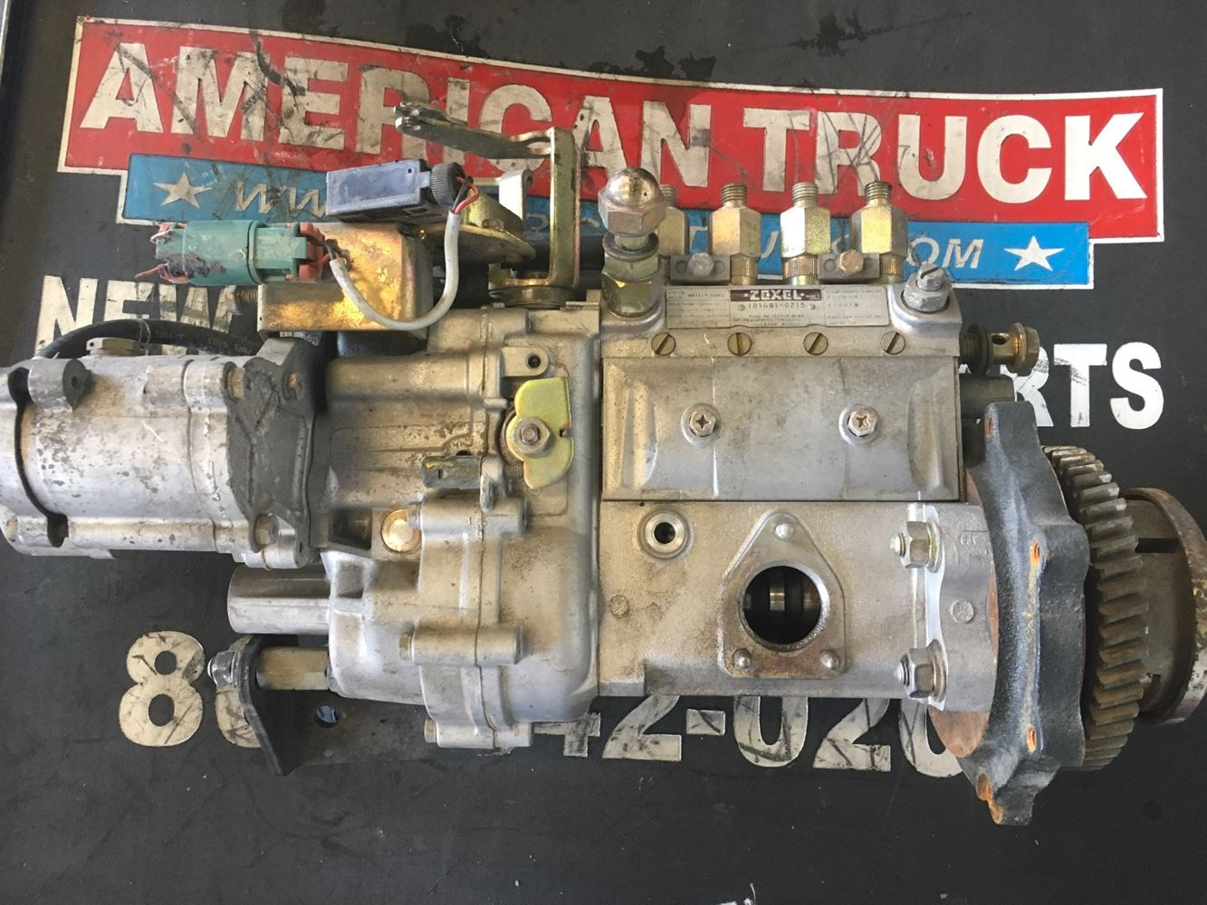 Fuel Gear Pumps New And Used Parts American Truck Chrome Isuzu 4he1 Engine Diagram Pump For An