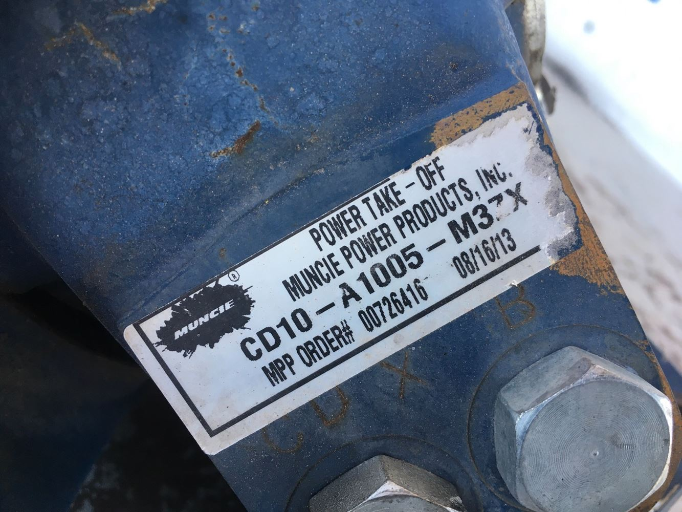 Used Transmissions & Transmission Parts - Ptos for for sale-59049430