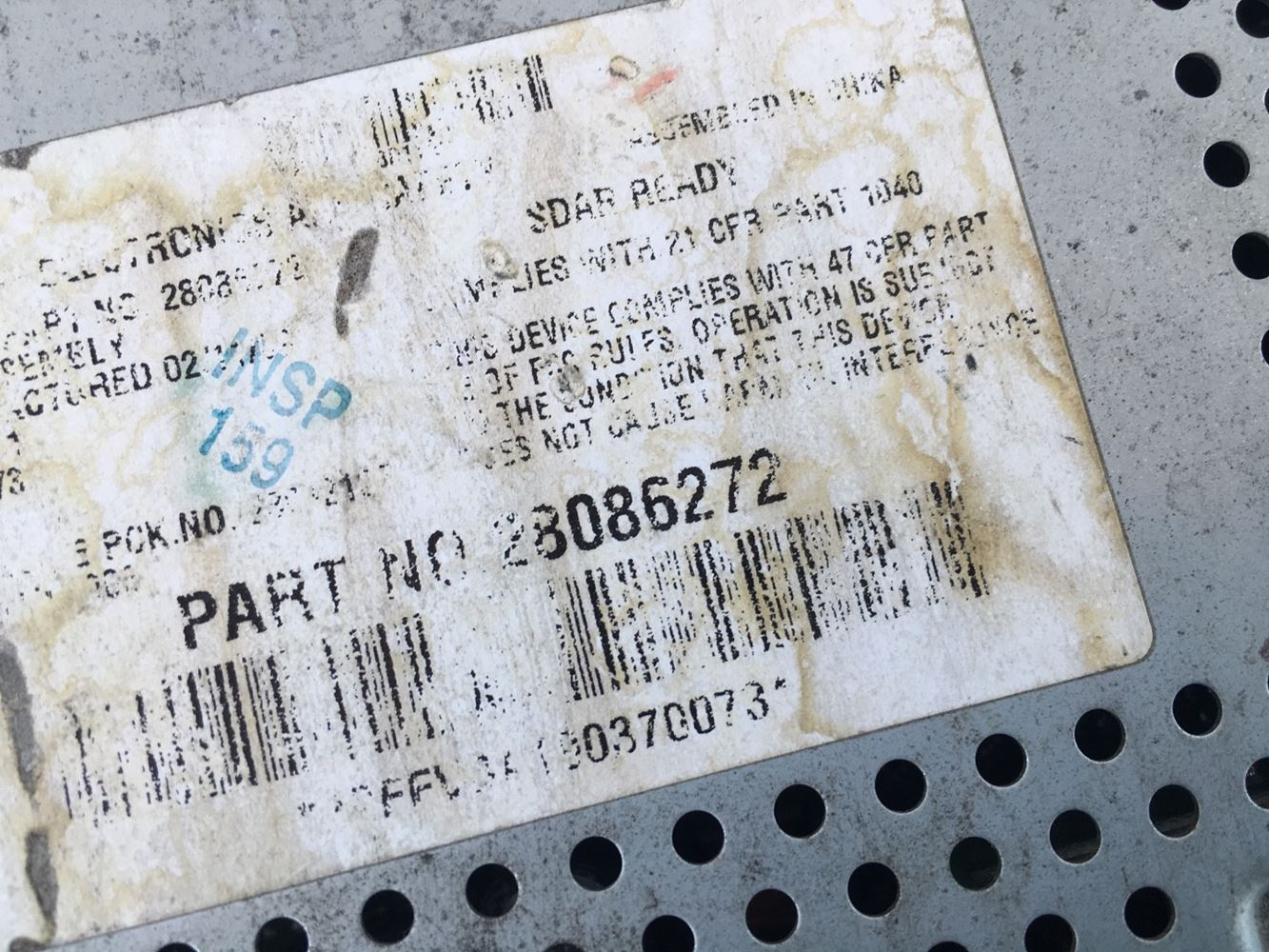 Used Parts for  N/A N/A for sale-59047245
