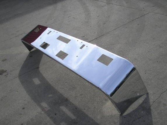 Chrome Bumpers For Fld 120 : Up freightliner fld stock bumpers tpi